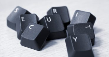 SECURITY spelled with keyboard keys